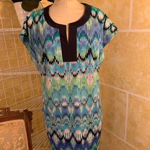 Zig Zag Multi Colored Dress